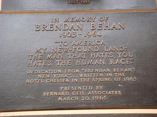 Brendan 20071026-chelsea-hotel-07-plaque-5