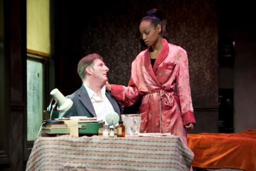Adrian Dunbar as Behan with Samantha Pearl as Lianne.