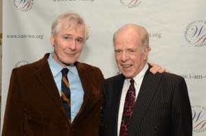 A pair of Pulitzer & Eugene O'Neill Award winners: John Patrick Shanley and William Kennedy