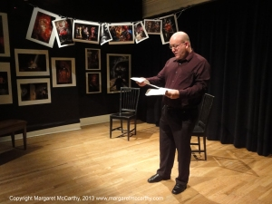 Irish Amarican Writers and Artists Salon Reading, The Cell Theat
